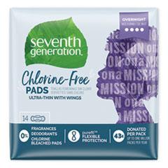 SEV 450039 Seventh Generation Chlorine-Free Pads SEV450039