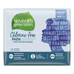 SEV 450022PK Seventh Generation Chlorine-Free Pads SEV450022PK