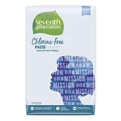 SEV 45000 Seventh Generation Chlorine-Free Pads SEV45000
