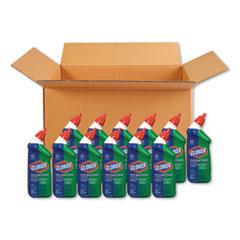 Toilet Bowl Cleaner with Bleach, Fresh Scent, 24oz Bottle, 12/Carton