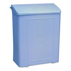 """Impact Products Sanitary Napkin Disposal Unit - Rectangular - Corrosion Resistance - 10.6"""" Height x"""