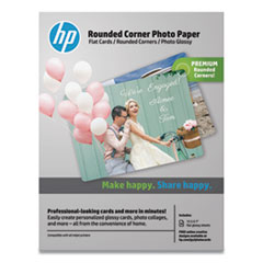 HEW 3WL67A HP Rounded Corner Photo Paper HEW3WL67A