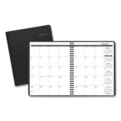 Monthly Planner, 8.75 x 7, Black, 2021