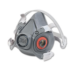MMM 6300 3M Half Facepiece Respirator 6000 Series, Reusable MMM6300