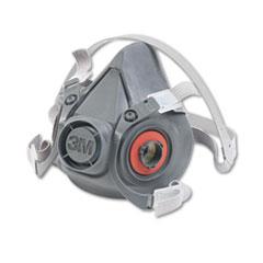 MMM 6300 3M Half Facepiece Respirator 6000 Series, Reusable MMM6300