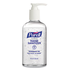 Purell Advanced Hand Sanitizer, 8 oz Pump