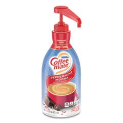 Liquid Coffee Creamer, Peppermint Mocha, 1500mL Pump Bottle