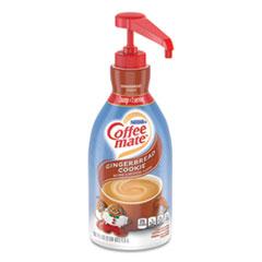 Liquid Coffee Creamer, Gingerbread Cookie, 1.5 Liter Pump Bottle