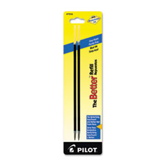 PIL 77216 Pilot Refill for Pilot Better, BetterGrip, EasyTouch and CAMO Ballpoint Pens PIL77216