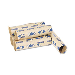 PMC 65070 PM Company Preformed Paper Tubular Coin Wrappers PMC65070