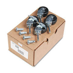 QRT 9500 Quartet Casters for Double-Sided Dry Erase Easel with Oak Stand QRT9500