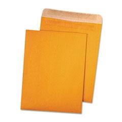 QUA 43511 Quality Park 100% Recycled Brown Kraft Redi-Seal Envelope QUA43511