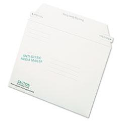 QUA 64126 Quality Park Antistatic Fiberboard Disk CD/DVD Mailer QUA64126