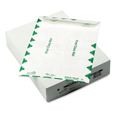 QUA R3130 Survivor White Leather Envelopes of DuPont Tyvek QUAR3130