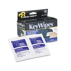 REA RR1233 Read Right KeyWipes REARR1233