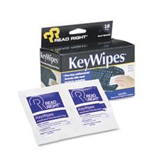 REA RR1233 Read Right KeyWipes REARR1233