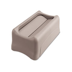 RCP 267360GY Rubbermaid Commercial Slim Jim Swing Lid RCP267360GY