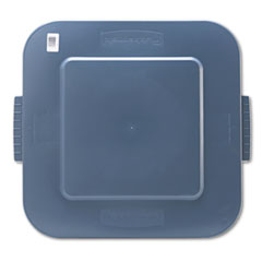 RCP 353900GY Rubbermaid Commercial Square Brute Lid RCP353900GY
