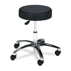 SAF 3431BL Safco Pneumatic Lab Stool without Back SAF3431BL