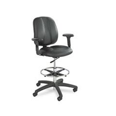 SAF 6689BL Safco Adjustable T-Pad Arms for Apprentice Series Chairs SAF6689BL