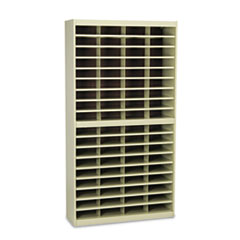 SAF 9241TSR Safco Mayline E-Z Stor Literature Organizers with Steel Frames and Shelves SAF9241TSR