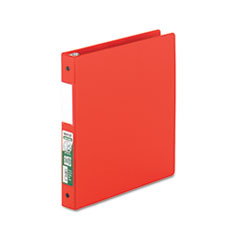 SAM 14333 Samsill Clean Touch Locking Round Ring Reference Binder Protected with an Antimicrobial Additive SAM14333