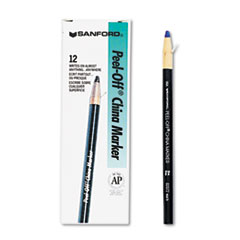 SAN 2072 Sharpie Peel-Off China Markers SAN2072