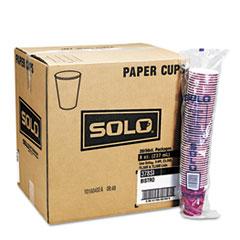 SCC 370SI Dart Solo Paper Hot Drink Cups in Bistro Design SCC370SI
