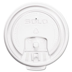 SCC LB3081 Dart Lift Back & Lock Tab Lids for Paper Cups SCCLB3081