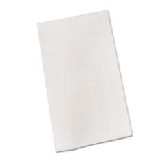 TBL BIO549WH Tablemate Plastic Table Cover TBLBIO549WH