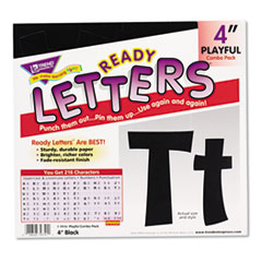 TEP T79741 TREND Ready Letters Playful Combo Set TEPT79741