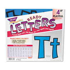 TEP T79744 TREND Ready Letters Playful Combo Set TEPT79744
