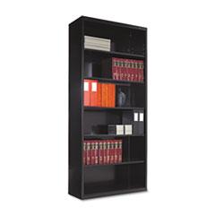 TNN B78BK Tennsco Metal Bookcases TNNB78BK