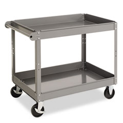 TNN SC2436 Tennsco Two-Shelf Metal Cart TNNSC2436