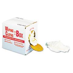 UFS N205CW05 General Supply Wiping Cloths in a Box UFSN205CW05