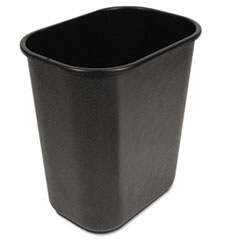 BWK 28QTWBBLA Boardwalk Soft-Sided Wastebasket BWK28QTWBBLA