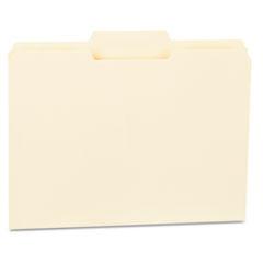 UNV 12122 Universal Top Tab Manila File Folders UNV12122