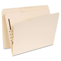 UNV 13410 Universal Reinforced Top Tab Folders with Fasteners UNV13410