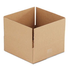 UFS 12124 United Facility Supply Brown Corrugated - Fixed-Depth Shipping Boxes UFS12124