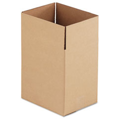 UFS 11812 United Facility Supply Brown Corrugated - Fixed-Depth Shipping Boxes UFS11812