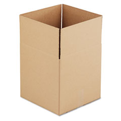 UFS 141414 United Facility Supply Brown Corrugated - Cubed Fixed-Depth Shipping Boxes UFS141414