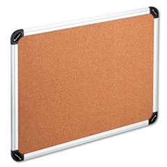 UNV 43714 Universal Deluxe Cork Board with Aluminum Frame UNV43714