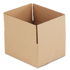 UFS 12106 United Facility Supply Brown Corrugated - Fixed-Depth Shipping Boxes UFS12106