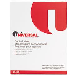 UNV 90108 Universal Copier Mailing Labels UNV90108