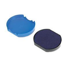 USS P46140BL Identity Group Replacement Pad for Trodat Self-Inking Dater USSP46140BL