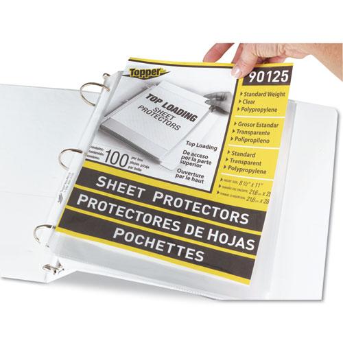 Cli 90125 c line polypropylene sheet protector cli90125 colourmoves