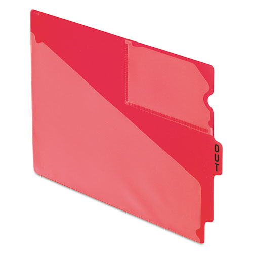 a8eb86292910 PFX 13541 Pendaflex Colored Poly Out Guides with Center Tab ...