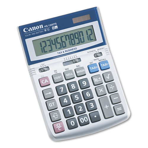 Canon TX-220TSII Portable Display Calculator 12-Digit LCD 0633C001