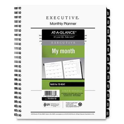 """At-A-Glance Weekly Refill Pages 2PPW Jan-Dec Desk 5-1//2/""""x8-1//2/"""" PK 14210"""