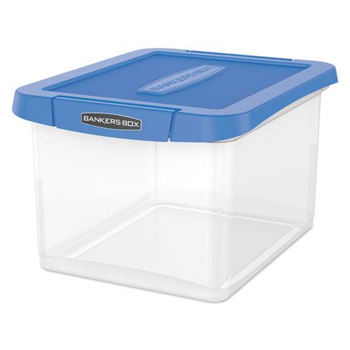 FEL 0086202 Bankers Box Heavy Duty Plastic File Storage FEL0086202